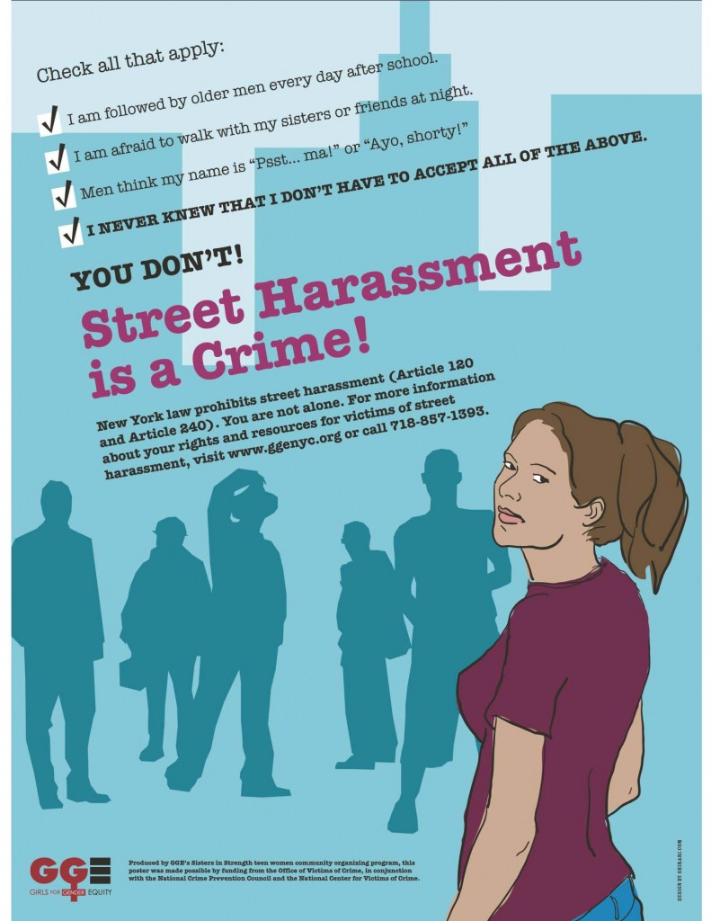 Think, Harassment information sexual pity