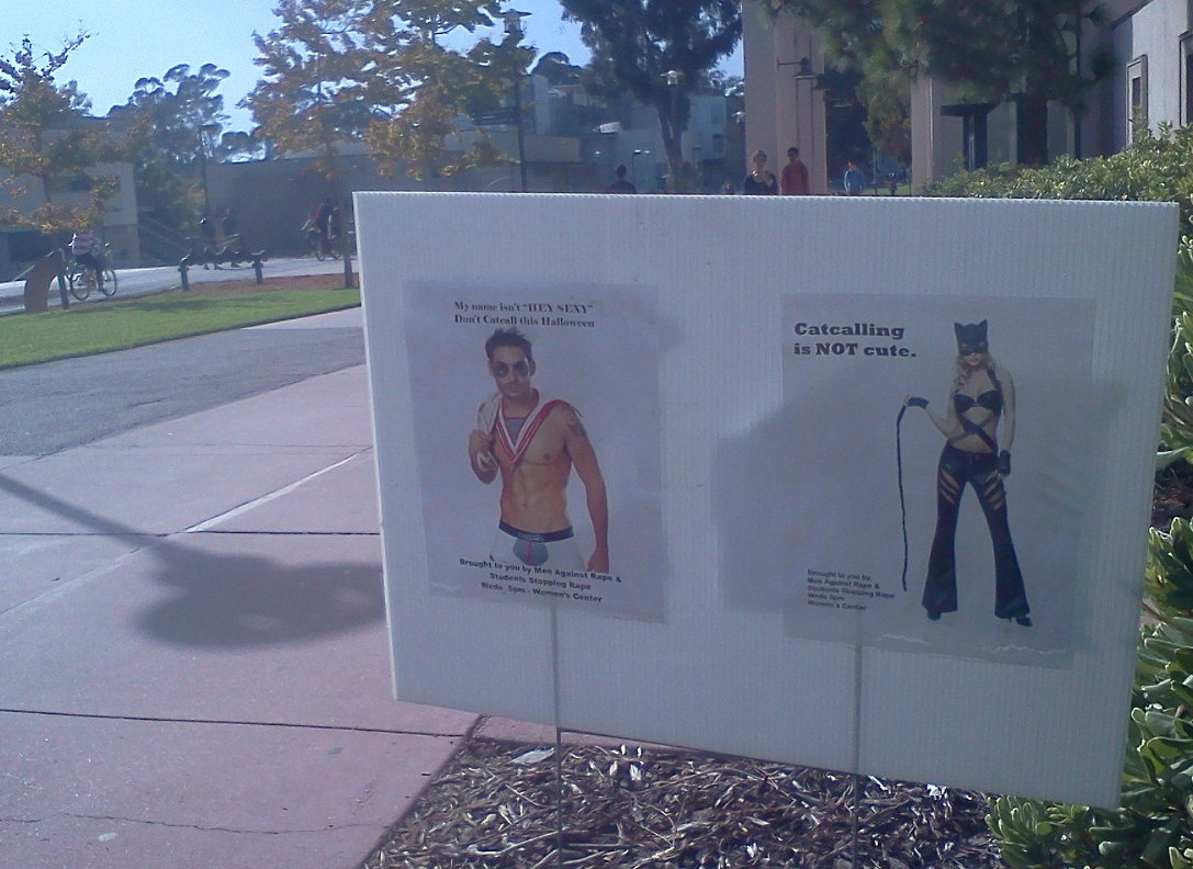 """UCSB Student Groups Say, """"Catcalling is not cute"""" 