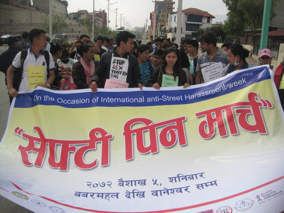 4.18.15 Activista Nepal - Safety Pin March2