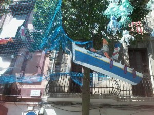 Festa de Sants Under The Sea, Boat in a Tree