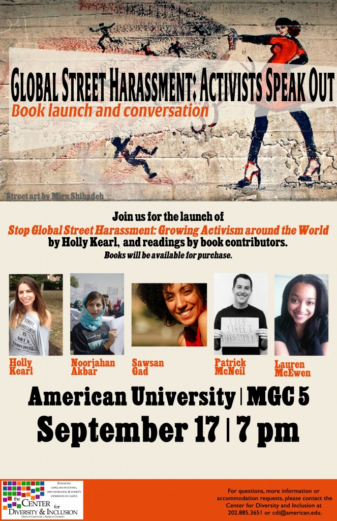 Stop Global Street Harassment AU book event