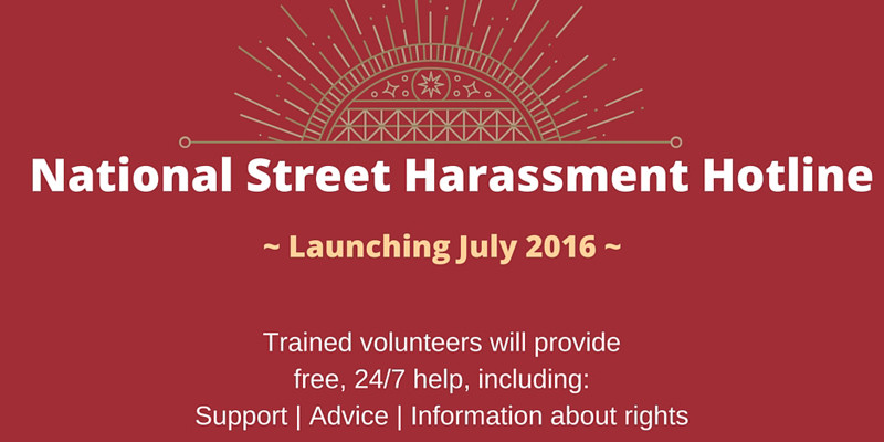 National Street Harassment Hotline Homepage