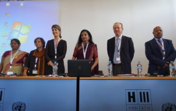HABITAT 3: Safer Cities is a Priority