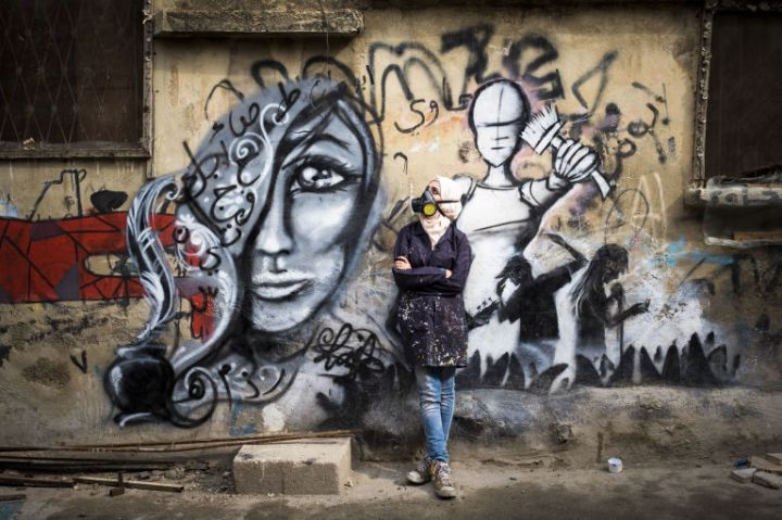 Laila Ajjawi Is A Renowned Palestinian Graffiti